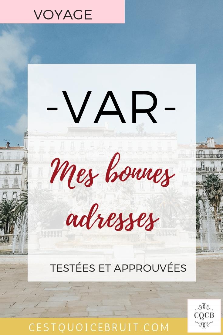 Mes bonnes adresses à découvrir dans le Var : où manger ? où dormir ? où sortir ? #var #adresses #blog #blogvarois #toulon