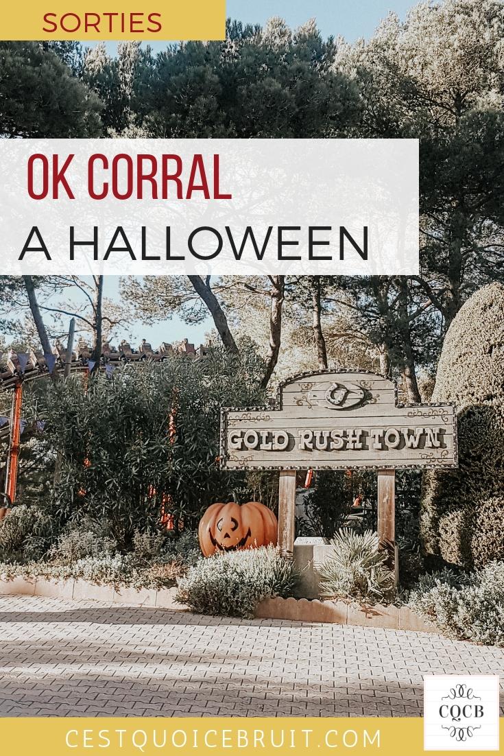 OK Corral à Halloween (sortie famille Cuges les Pins) #okcorral #halloween #sortiefamille #var #marseille #parcattractions #blogfamille