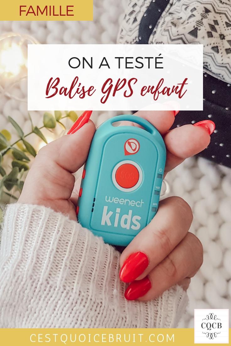 On a testé la balise GPS pour enfant Weenect kids #famille #maman #parents #éducation #test