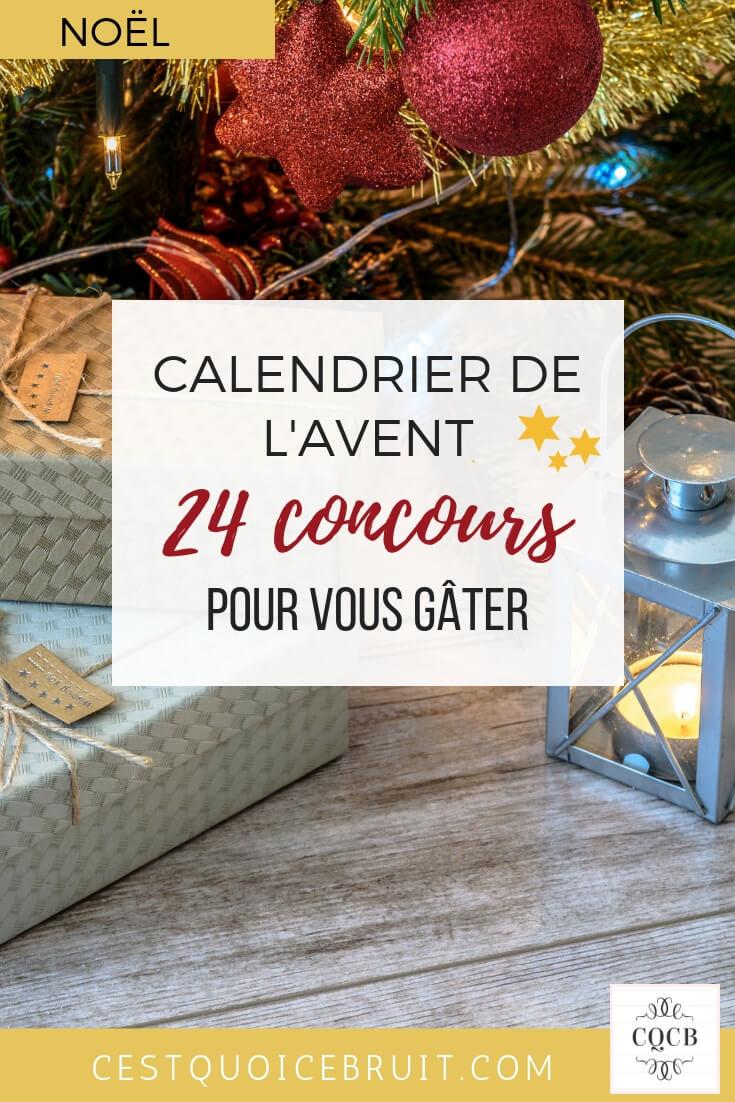 24 concours avant Noël, calendrier de l'Avent #concours #noel #christmas #unaventavecmilie
