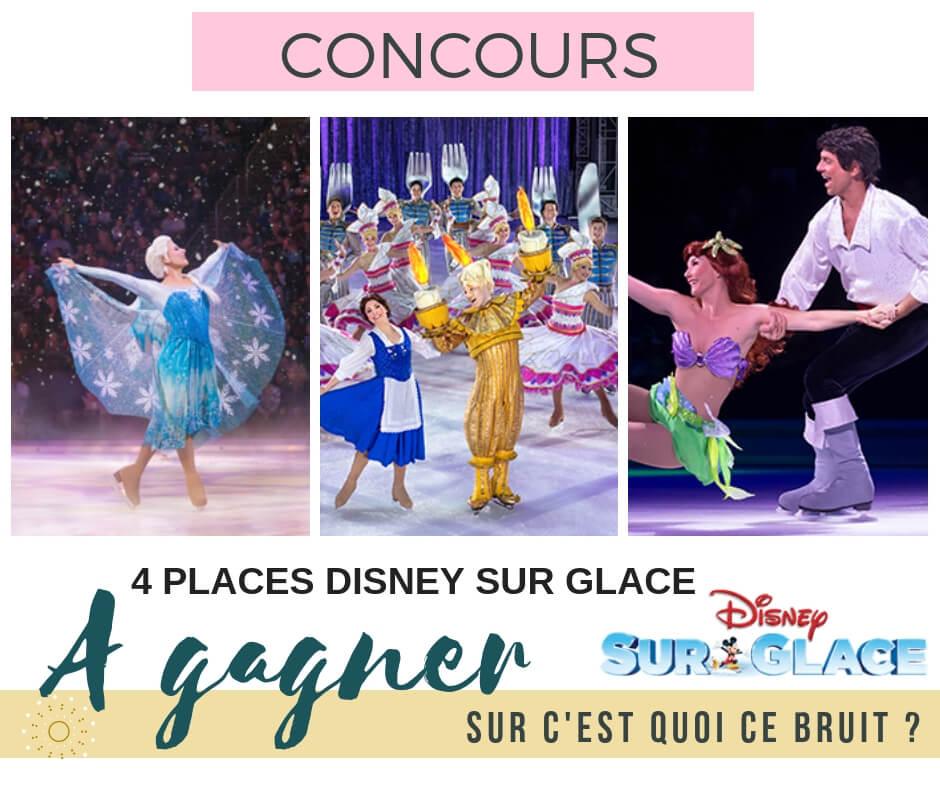Concours pour gagner des places Disney sur glace crois en tes rêves