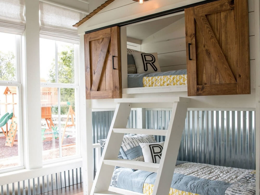 Aménager une chambre pour plusieurs enfants avec des lits superposés