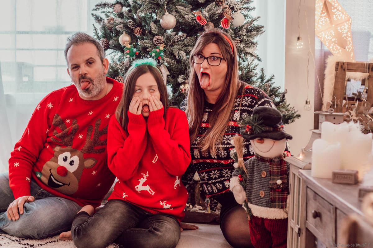 Pulls de Noël pour toute la famille