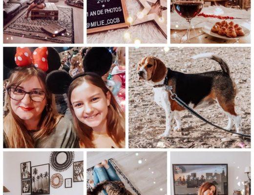 Janvier 2019, famille et blog