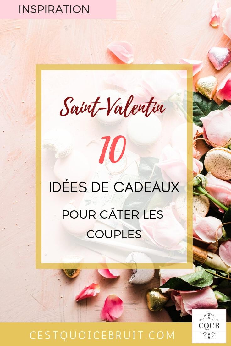 Idées de cadeaux à s'offrir en couple pour la Saint Valentin #valentine #saintvalentin #couple #couplegoals #love